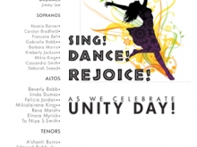 Unity Choir Day Ad